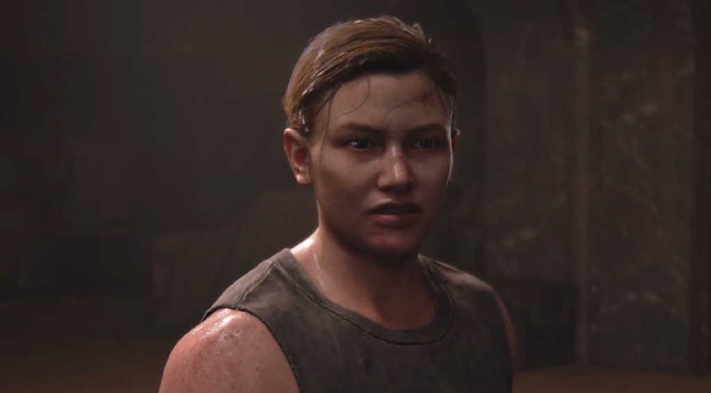 """Un primo piano di Abby, il personaggio """"cattivo"""" di The Last Of Us Part 2"""